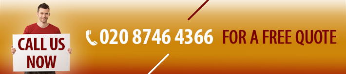 Call Us Now for a Free Man with Van Quote 020 8746 4366